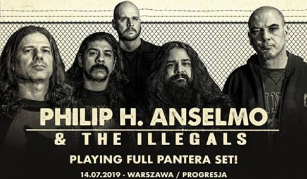 "Going. | Philip H. Anselmo ""Pantera Set"" - Progresja"