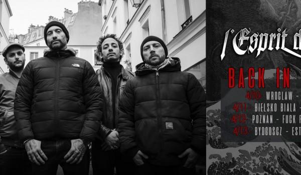 Going. | L'Esprit Du Clan (Fr) w Bydgoszczy - Estrada Stagebar
