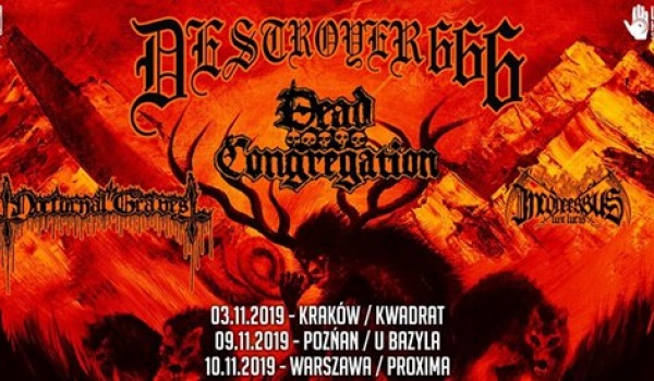 Going. | Deströyer 666 + Dead Congregation - Klub Studencki Kwadrat
