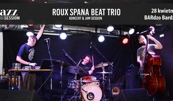 Going.   Jazz Session #49   Roux Spana Beat Trio - BARdzo bardzo