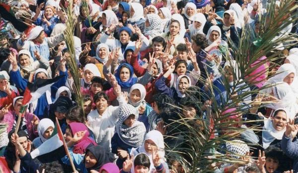 Going.   DKF Muranów: Intifada Naili reż. Julia Bacha - Kino Muranów