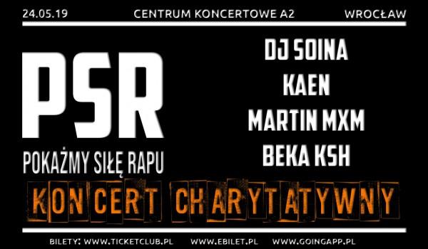 Going. | Pokażmy Siłę Rapu / DJ Soina, KaeN, Martin MxM, Beka KSH / Koncert charytatywny - A2 - Centrum Koncertowe