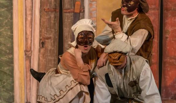 Going.   Sąsiadka - spektakl komedii dell'arte - Teatr Praska 52