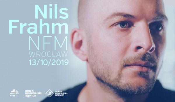 Going. | Nils Frahm / Wrocław - Narodowe Forum Muzyki