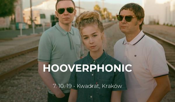 Going. | Hooverphonic | Kraków - Klub Studencki Kwadrat