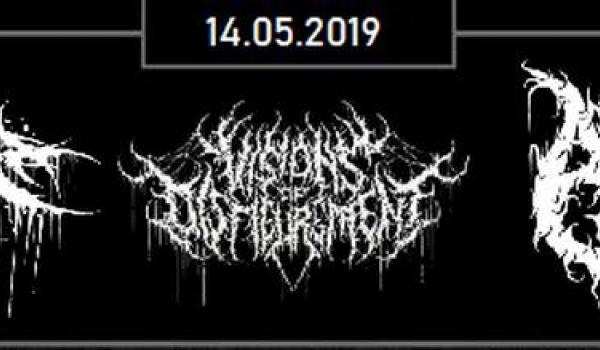 Going. | Scordatura / Visions of Disfigurement / Aphotic - Łódź - Magnetofon