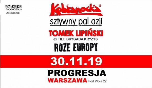 Kobranocka / Sztywny Pal Azji / Tomek Lipiński z Zespołem / Róże Europy [SOLD OUT]