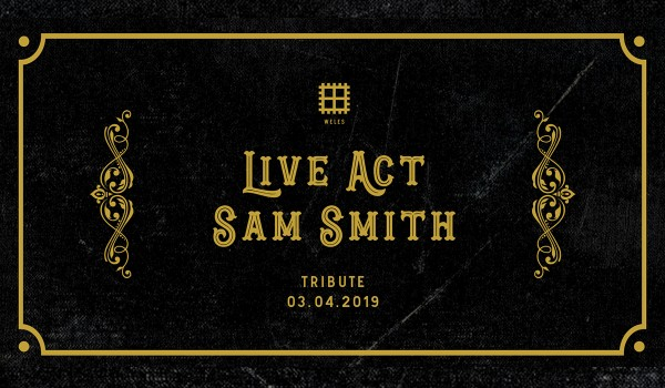 Going. | Weles Live Act: Sam Smith - Weles