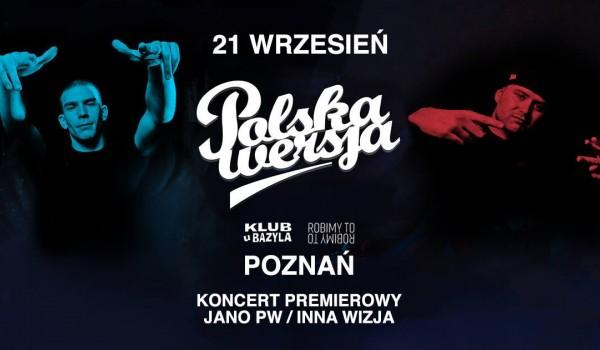 Going. | Polska Wersja - Koncert premierowy JANO PW - Klub u Bazyla