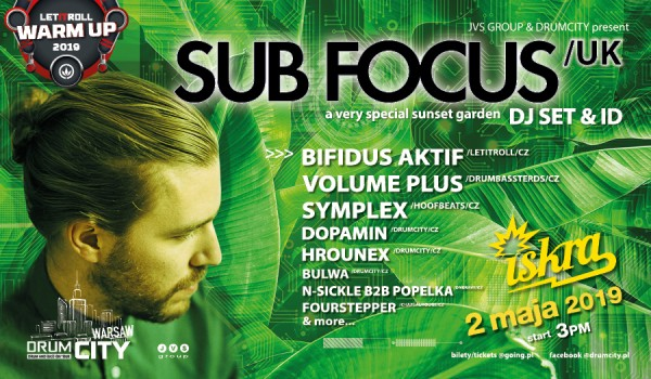 Going. | DrumCity Warsaw w/ SUB FOCUS [Let It Roll 2019 Warm up] - Iskra Pole Mokotowskie