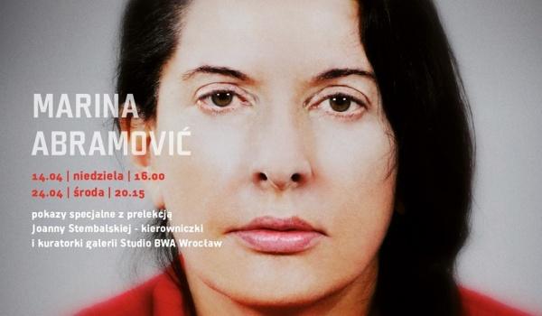 Going. | Marina Abramović. Artystka obecna - nowe pokazy specjalne - Kino Nowe Horyzonty
