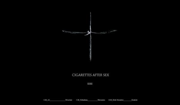 Going. | Cigarettes After Sex / Wrocław - A2 - Centrum Koncertowe