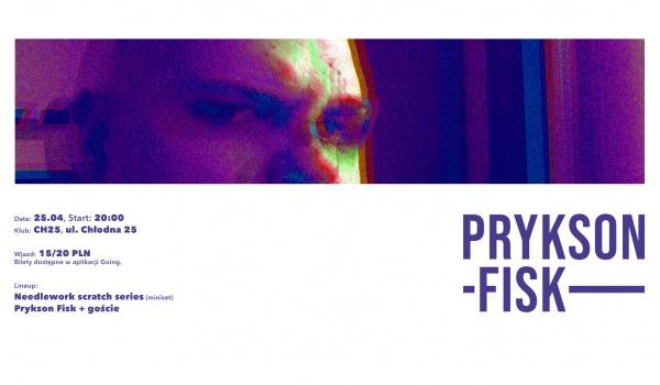Prykson Fisk - LoFi x 100ner EP w Warszawie