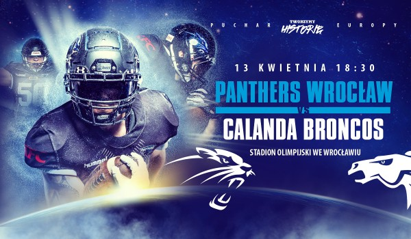 Going.   Panthers Wrocław vs Calanda Broncos - Stadion Olimpijski