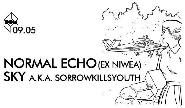 Going.   NORMAL ECHO+SKY [MODERN ELECTRONIC MELANCHOLIA] - DOM Łódź