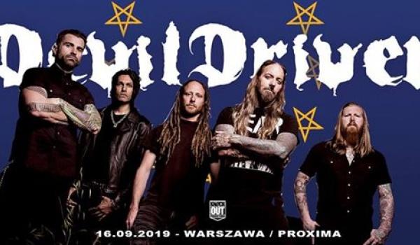 Going. | Odwołany / DevilDriver | Warszawa - Proxima