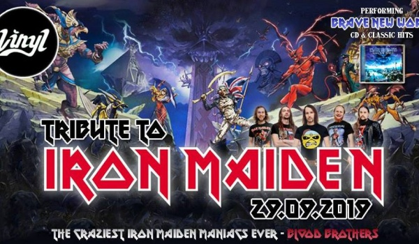 Going. | Tribute to Iron Maiden / Blood Brothers - Klub Vinyl