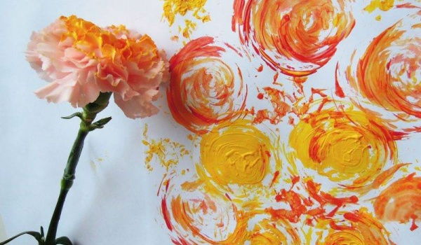Going. | Malowanie kwiatami - Dom Kultury Kadr
