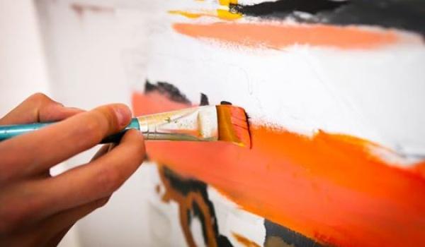Going. | W świecie koloru - warsztaty malarskie - Lubelska Szkoła Sztuki i Projektowania