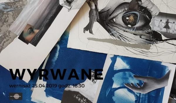 Going.   Wyrwane - wystawa cyjanotypii i kolaży - Kino Nowe Horyzonty