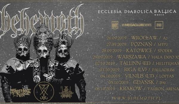 "Going. | Behemoth ""Ecclesia Diabolica Baltica"" | Gdańsk - B90"