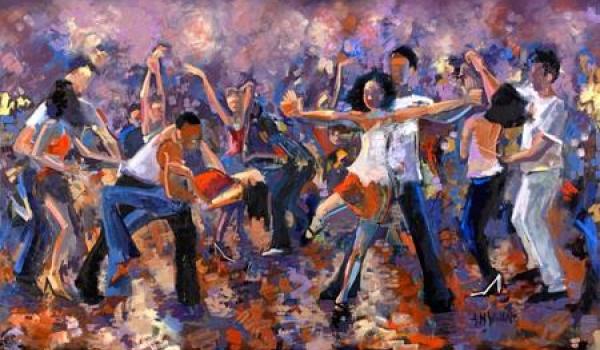 "Going. | Sensual before party ""International Bachata Flash Mob"" - Scenografia"