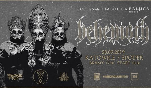 Going. | Behemoth | Ecclesia Diabolica Baltica | Katowice - Spodek
