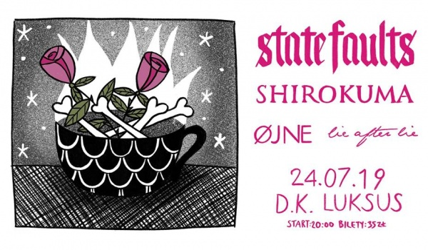 Going. | State Faults / Øjne / Shirokuma / Lie After Lie - D.K. Luksus