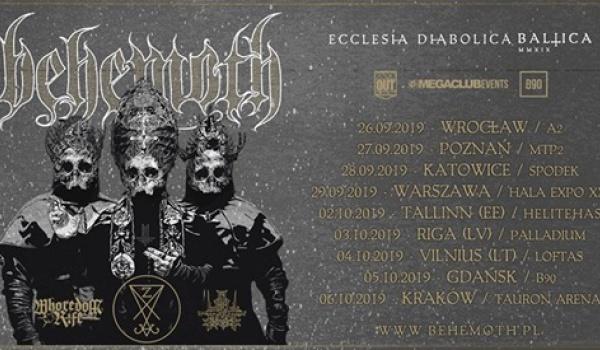 "Going. | Behemoth ""Ecclesia Diabolica Baltica"" | Poznań - Hala nr 2, MTP"