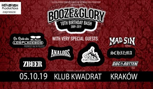 Going. | 10 Urodziny Booze & Glory - Klub Studencki Kwadrat