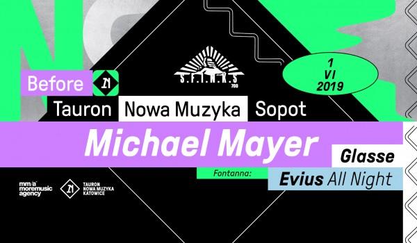 Going. | Before Tauron Nowa Muzyka Sopot: Michael Mayer - Sfinks700