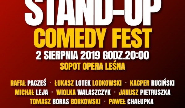 Going. | STAND-UP Comedy Fest - Opera Leśna / The Forest Opera