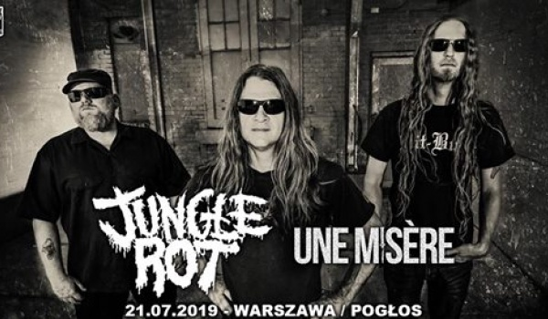 Going. | Jungle Rot + Une Misere | Warszawa - Pogłos