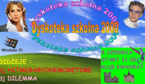 Going. | Dyskoteka Szkolna 2000 - Klub Studencki Kwadrat