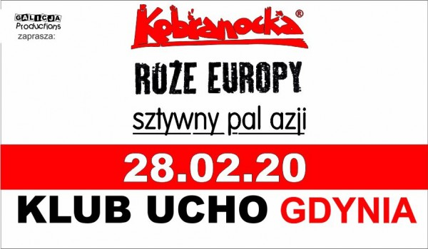 Going. | Kobranocka | Róże Europy | Sztywny Pal Azji - Klub Muzyczny Ucho