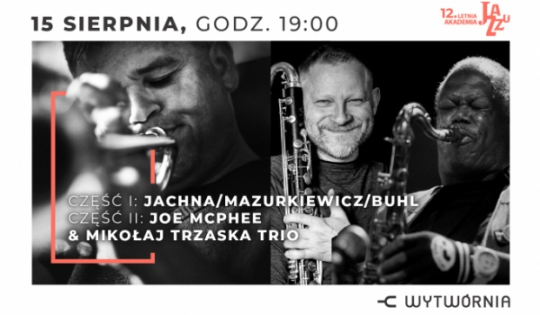 Going. | 12. LAJ - Jachna, Mazurkiewicz, Buhl / Joe McPhee & Mikołaj Trzaska Trio - Klub Wytwórnia