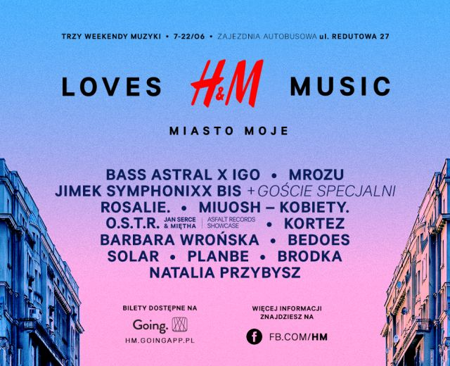 Going. | H&M Loves Music: Miasto Moje
