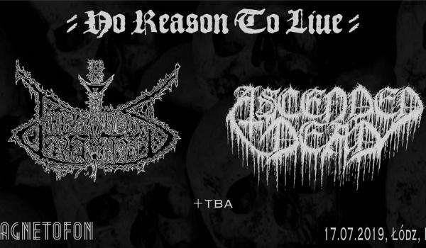 Going. | Impetuous Ritual, Ascended Dead | Łódź - Magnetofon