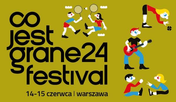 Going. | Co jest Grane 24 Festival - Centrum Sztuki Współczesnej