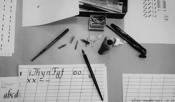 Going. | Kaligrafia dla najmłodszych - Lotne Babki