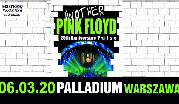 Going. | Another Pink Floyd – 25th Pulse - Palladium