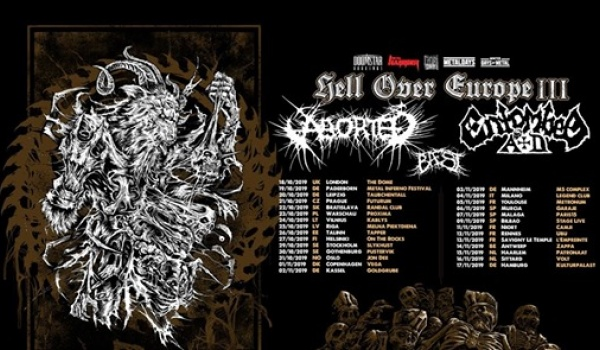 Going. | Aborted + Entombed A.D | Warszawa - Proxima