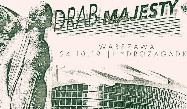 Going. | Drab Majesty + Body of Light | Warszawa - Hydrozagadka