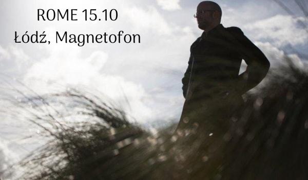 Going. | Jerome Reuter (ROME) - Magnetofon