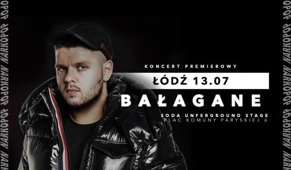 Going. | Kaz Bałagane w Łodzi. Koncert premierowy - SODA Underground Stage
