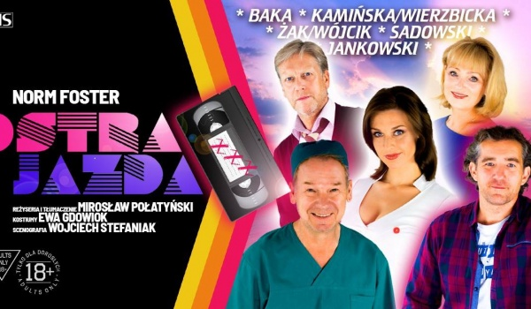 Going. | Spektakl OSTRA JAZDA - Miejskie Centrum Kultury