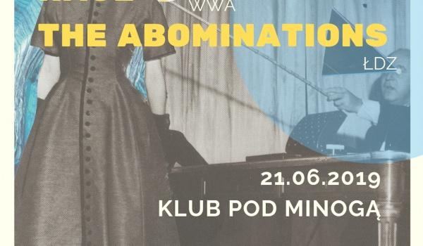 Going. | Warm&cold.wav: Willa Kosmos // hage-o // The Abominations - Klub Pod Minogą