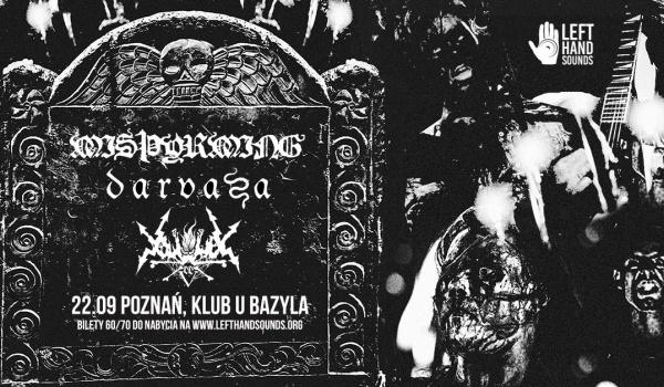 Going. | Misþyrming, Darvaza, Vortex of End | Poznań - Klub u Bazyla