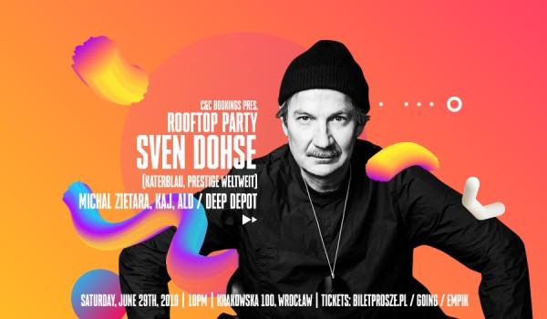 Going. | Rooftop party w/ Sven Dohse, Michal Zietara and more - Krakowska 100
