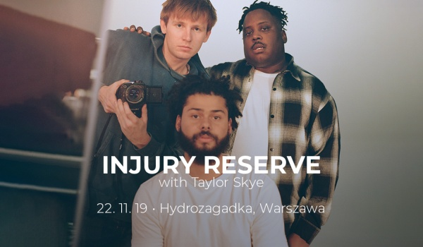 Going. | Injury Reserve - Hydrozagadka